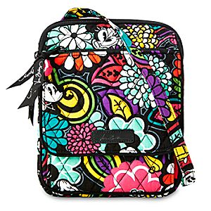 Mickeys Magical Blooms Mini Hipster Bag by Vera Bradley