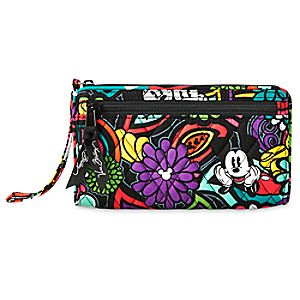 Mickeys Magical Blooms Wristlet by Vera Bradley
