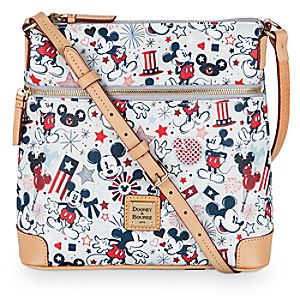 Patriotic Mickey Mouse Letter Carrier Bag by Dooney & Bourke