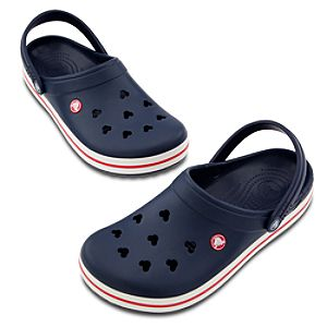 Crocband™ Mickey Mouse Shoes for Adults -- Blue