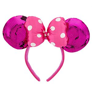 Minnie Mouse Ears Headband for Girls