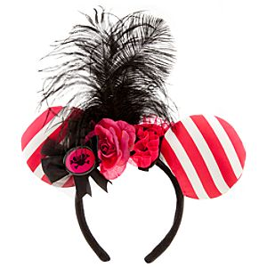Minnie Mouse Ear Headband - Pirate