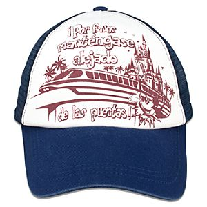 Spanish Walt Disney World Monorail Cap