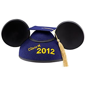 Class of 2012 Graduation Mickey Mouse Ear Hat