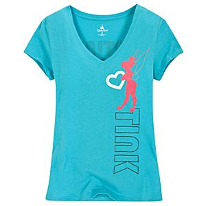 I Heart Tink Tinker Bell Tee for Women