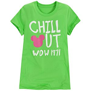 Chill Out Walt Disney World Tee for Women