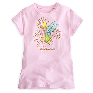 Tinker Bell Glitter Tee for Women - Walt Disney World