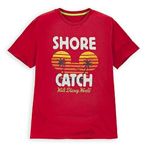 Shore Catch Walt Disney World Mickey Mouse Tee for Men