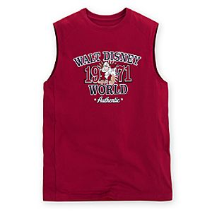 Muscle-Style Walt Disney World Grumpy Muscle Tee -- Red