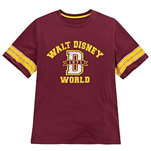 Collegiate Walt Disney World Tee for Adults -- Maroon