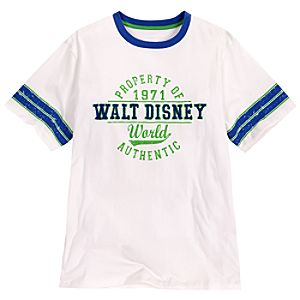 Collegiate Walt Disney World Tee for Adults -- White