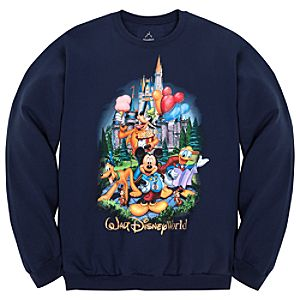 Fleece Storybook Walt Disney World Sweatshirt for Adults