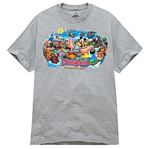 Disney Storybook Attractions Disneyland Tee for Adults