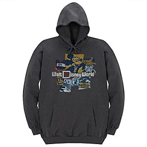 40th Anniversary Walt Disney World Resort Fleece Hoodie for Men
