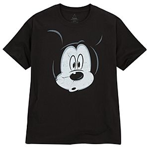 Peek-a-Boo Mickey Mouse Tee for Adults