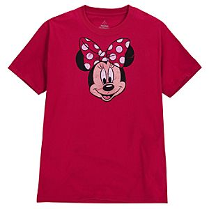 Peek-a-Boo Minnie Mouse Tee for Adults