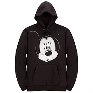 Peek-a-Boo Mickey Mouse Hoodie for Adults