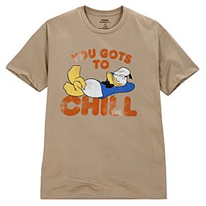 You Gots To Chill Donald Duck Tee for Men