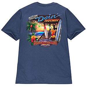 Disney Cruise Line Doin Nothing Tee for Adults