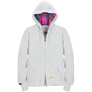 Hooded White Disney Cruise Line Jacket for Adults