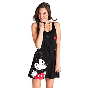 Black Mickey Mouse Dress for Women