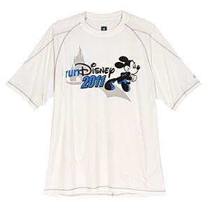 RunDisney 2011 Mickey Mouse Tee by Champion for Men