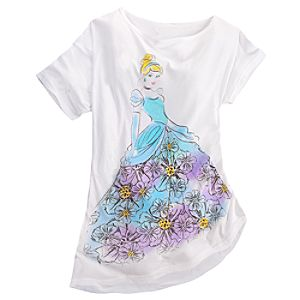 Dolman Sleeve Cinderella Tee for Women
