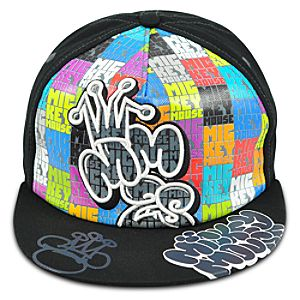 Mickey Mouse Color Block Baseball Cap for Adults
