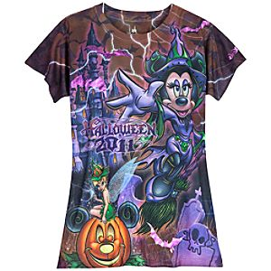Halloween 2011 Walt Disney World Tee for Women