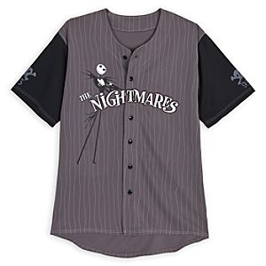 The Nightmare Before Christmas Baseball Shirt for Men