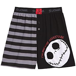 The Nightmare Before Christmas Boxer Shorts for Men