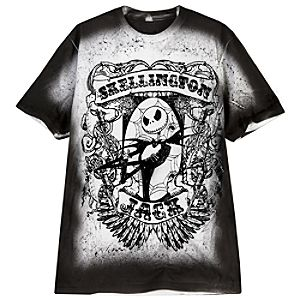 Tattoo Art Jack Skellington Tee for Men