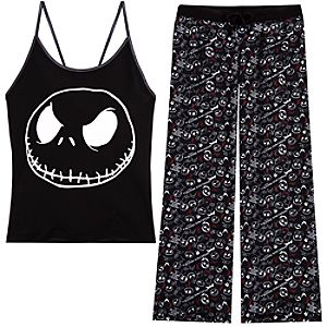 The Nightmare Before Christmas Pajama Set for Women -- 2-Pc.