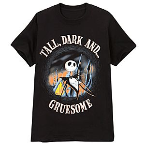Tall, Dark and Gruesome Jack Skellington Tee for Men
