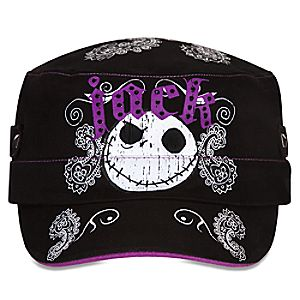 Jack Skellington Military Cap for Women