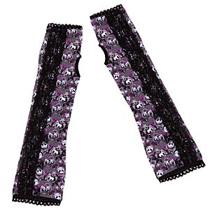 Lace Jack Skellington Arm Warmers