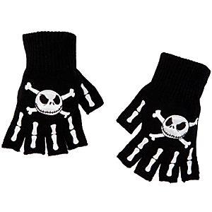 Jack Skellington Fingerless Gloves for Adults