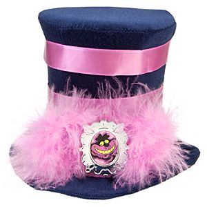 Alice in Wonderland Mini Cheshire Cat Top Hat