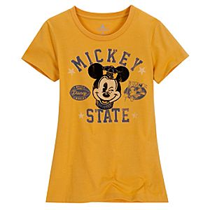Flock Mascot Mickey Mouse Tee for Women
