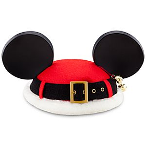 Santa Mickey Mouse Ear Hat