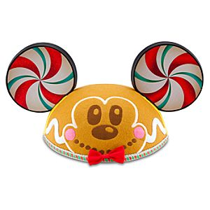 Gingerbread Mickey Mouse Ear Hat