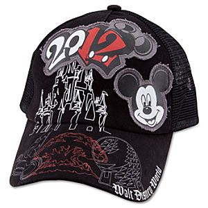2012 Walt Disney World Mesh Baseball Cap for Adults