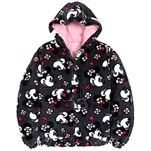 Hooded Winter Minnie Mouse Jacket for Women