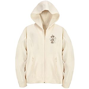 Zip Fleece Walt Disney World Minnie Mouse Hoodie for Women