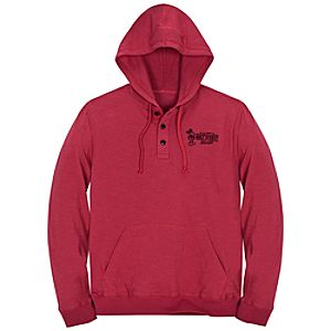 Walt Disney World Mickey Mouse Polo Hoodie for Adults