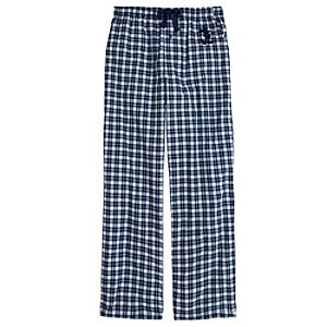 Plaid Mickey Mouse Lounge Pants for Men