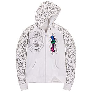 Zip Fleece 2012 Walt Disney World Hoodie for Women