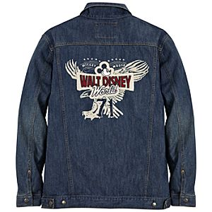 Walt Disney World Mickey Mouse Denim Jacket for Men