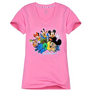 V-Neck 2012 Walt Disney World Tee for Women