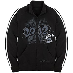 2012 Walt Disney World Fleece Track Jacket for Men